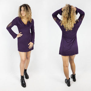 Coolup Cowl Dress