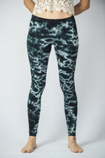 tie dye eye leggings