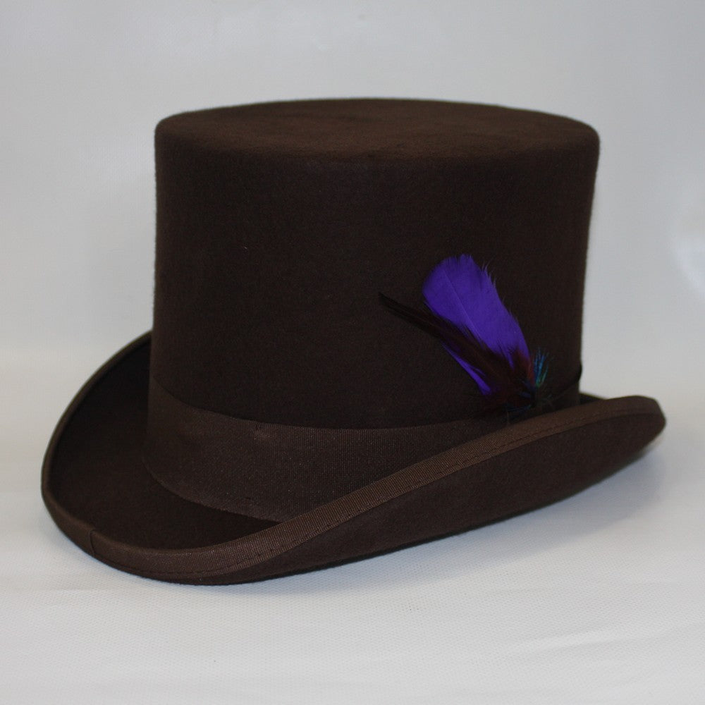 Steampunk Wool Top Hat