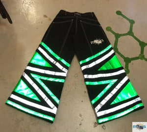 Custom Reflective Phat Pants