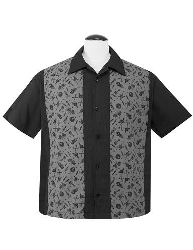 Gear head Bowling shirt