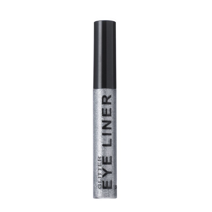 tube of silver glitter eyeliner for festival fashion