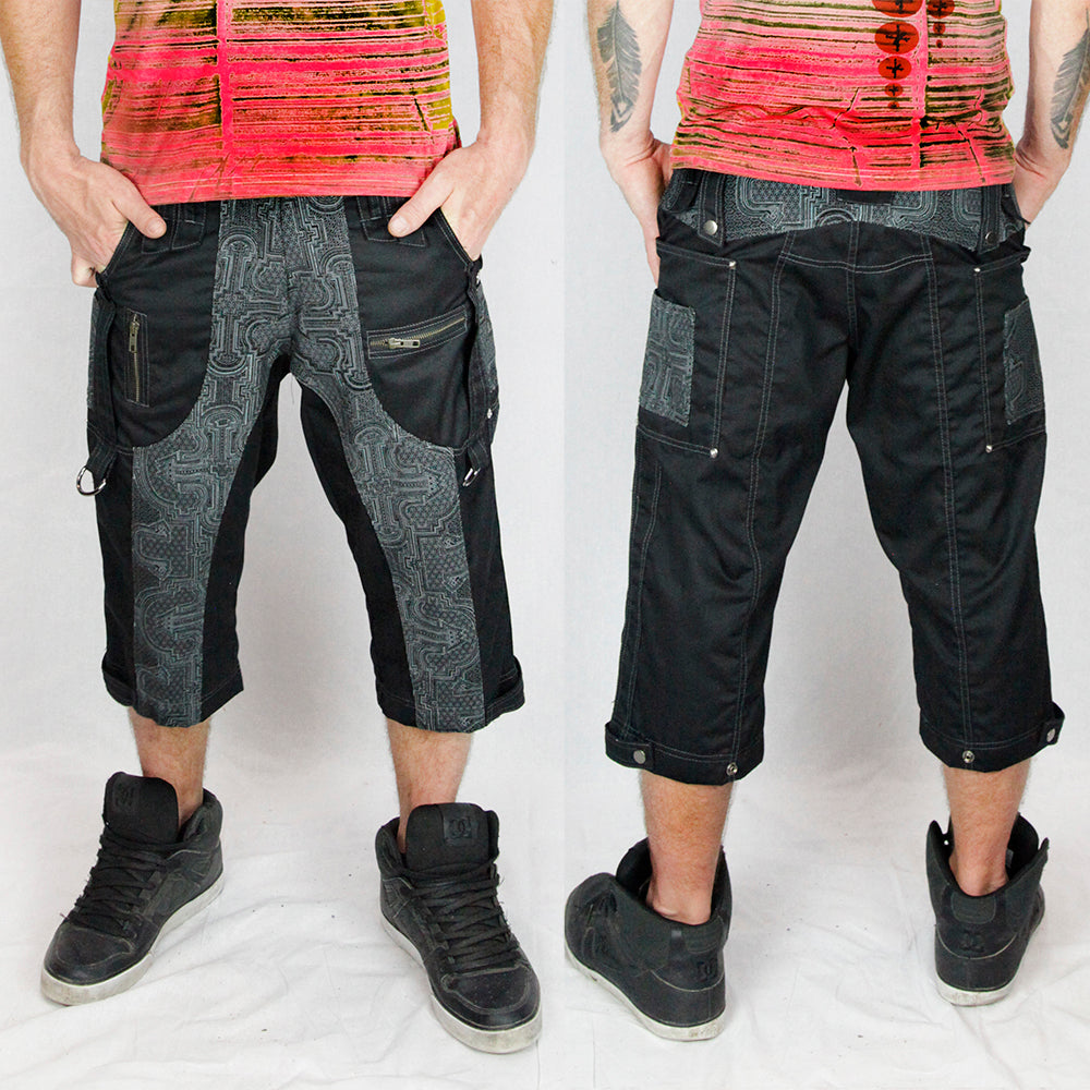 Shipibo Shorts doof shorts for men ministry of style