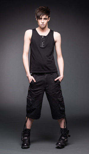 Gothic Side Pocket shorts