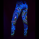 Archaic Trip UV leggings