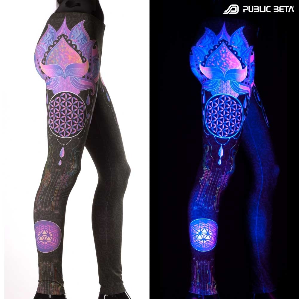 uv lotus leggings