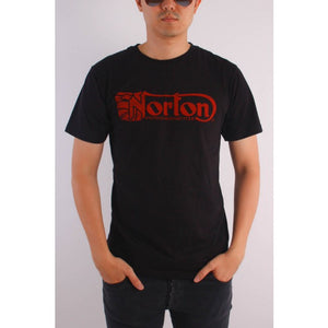 Paringa Mens Norton Motorcycle Tshirt