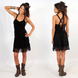 Karratha Black Stud Dress