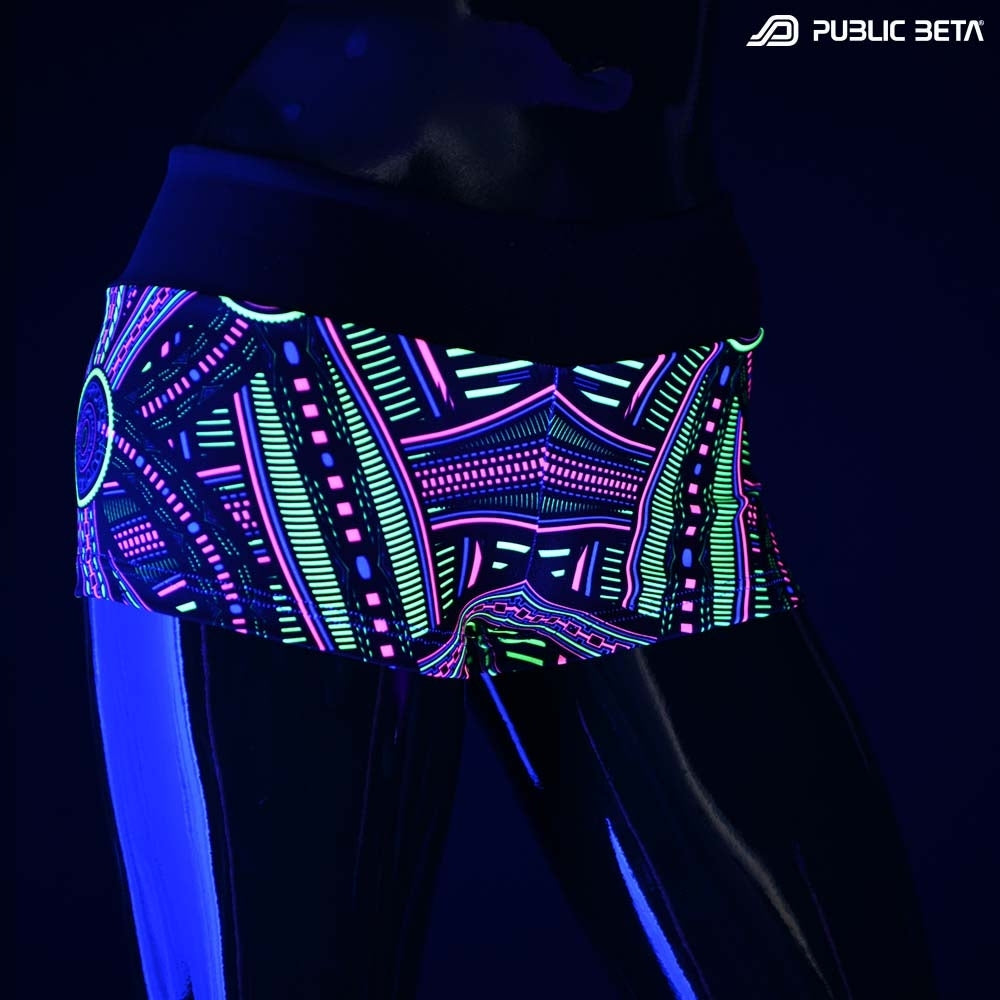 Psychedelic hotpants
