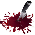 Knife stabbing fake blood splatter