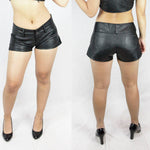 Trixi vinyl shorts womens shorts by ministry of style