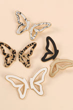 Butterfly Earrings Black