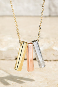 Bar Charms Necklace