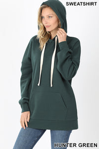 Oversized Hoodie Forest Green