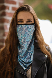 Blue Head Neck Gaiter