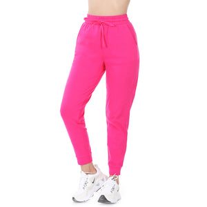 Hot Pink Raglan Sleeve and Jogger Set