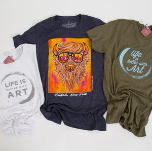 Life is Better with Art Tank