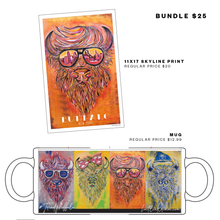 Two Item Trendy Buffalo Gift Bundle