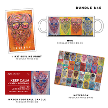 Four Item Trendy Buffalo Gift Bundle