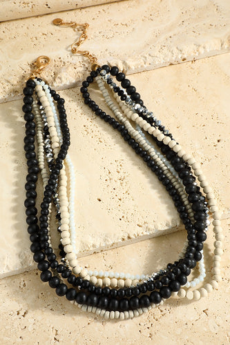 Beaded Short Necklace