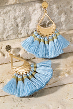 Hammered Metal and Tassel