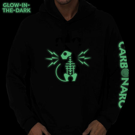 Glow-In-The-Dark Jester Cat Hoodie