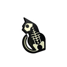 Load image into Gallery viewer, Jester Cat Enamel Pin