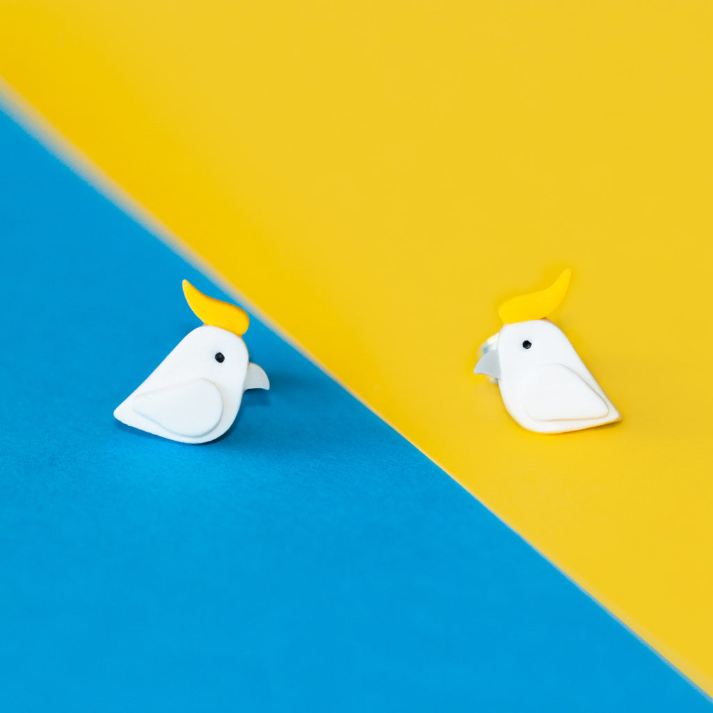 Cockatoo Studs