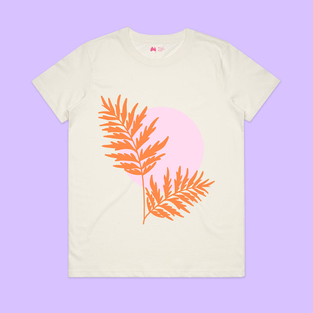 Grevillea Sunset Tee - Organic Cotton