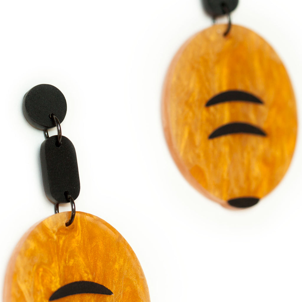 Honey Ant Earrings