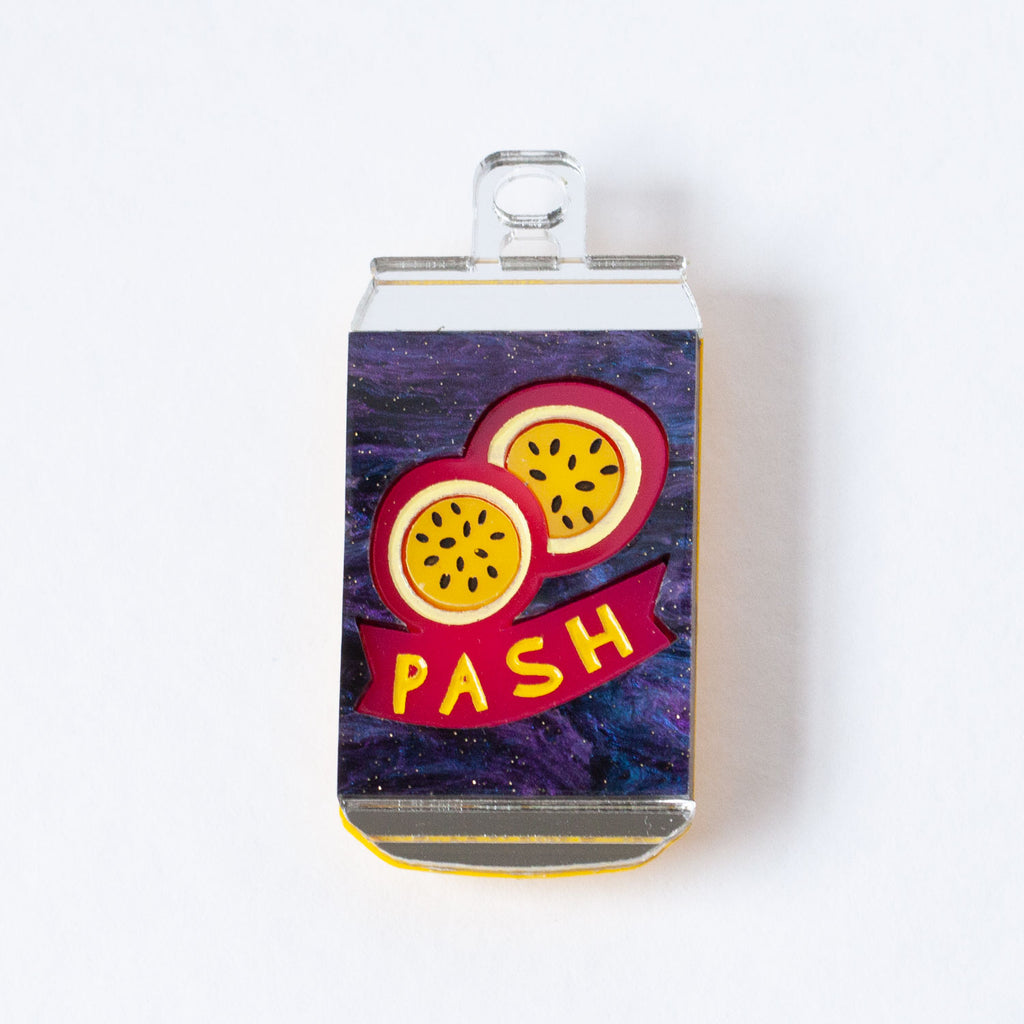 Fancy a Pash? Brooch