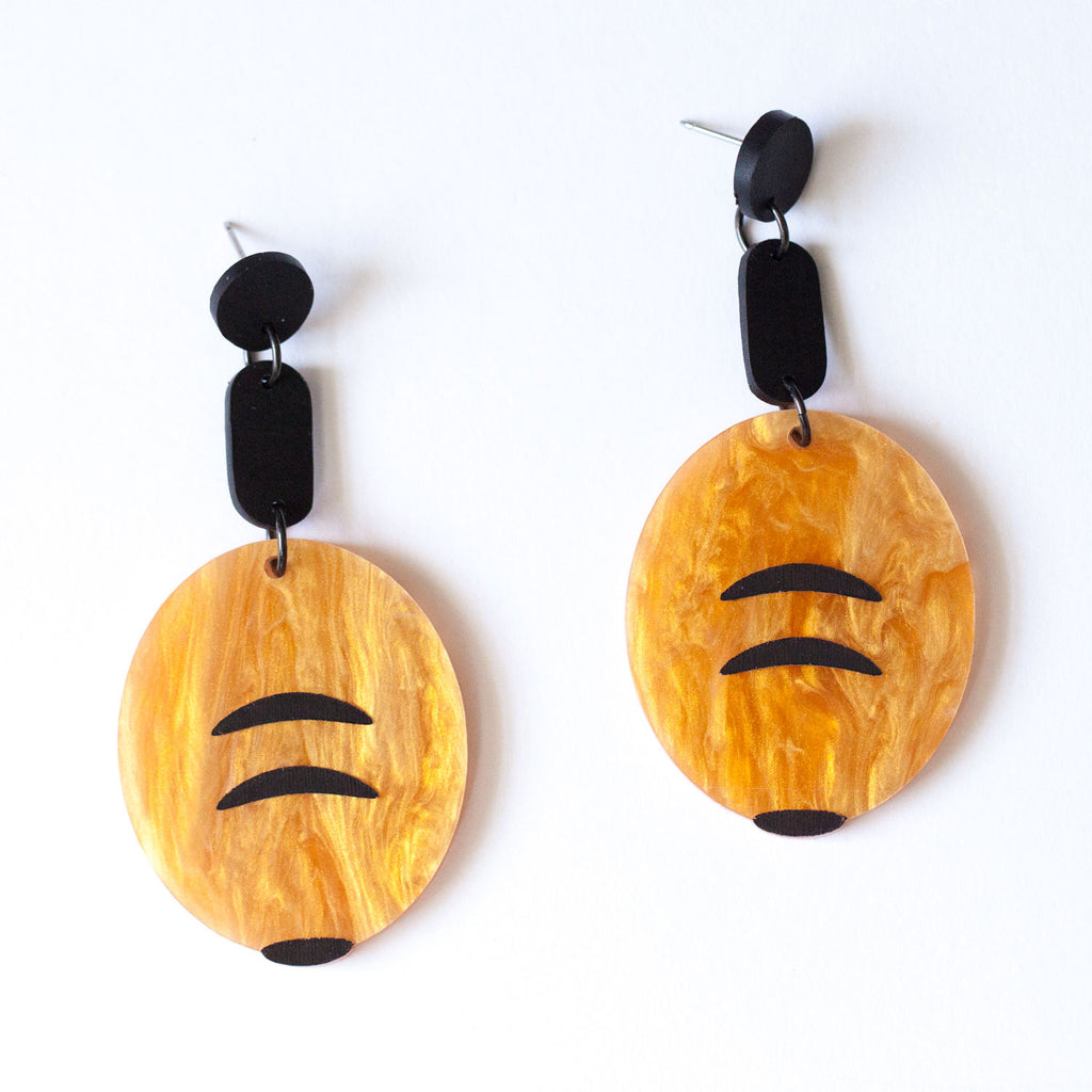 Honey Ant Earrings (Second)