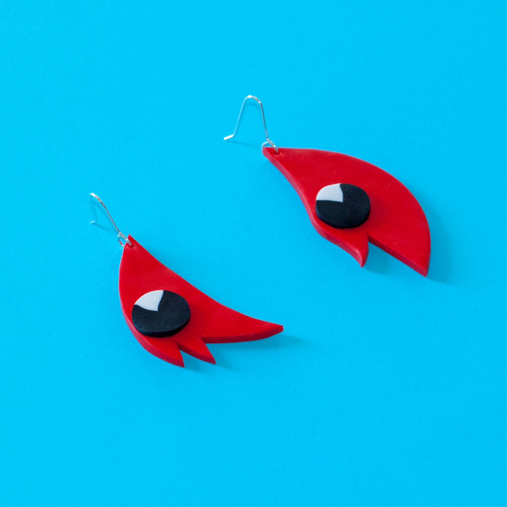 Sturts Desert Pea Earrings