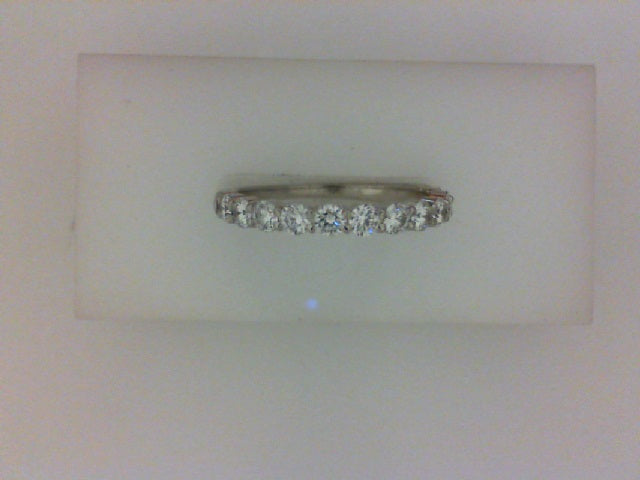 .72CTTW 2.5MM 14KT WG  SHARED PRONG DIAMOND BAND