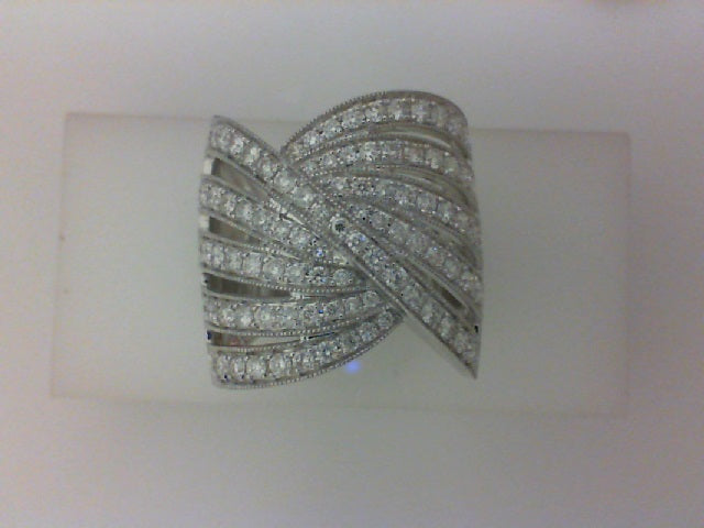14KT WG1.22CTTW 95 RD DIA FASHION RING