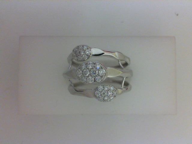 14KT WG 30 RD DIA .40CTTW FASHION RING