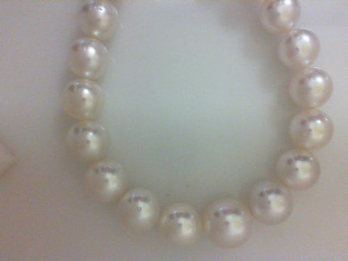 14.3X11MM 35RD WHITE SOUTH SEA PEARLS