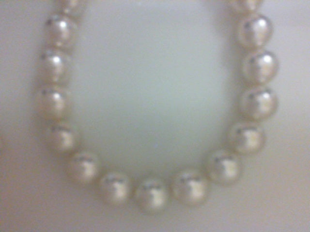 13.3X11MM 35 RD WHITE SOUTH SEA PEARLS NOT STRUNG NO CLASP