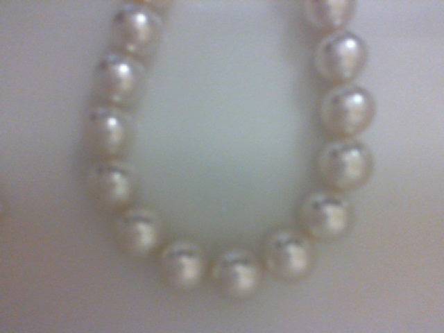 13.9X12 35 RD WHITE SOUTH SEA PEARL NOT STRUNG NO CLASP