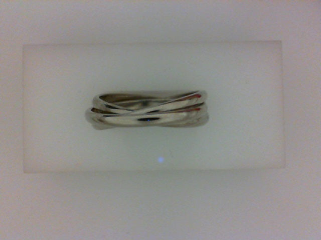 14K WG INTERLOCKING BAND