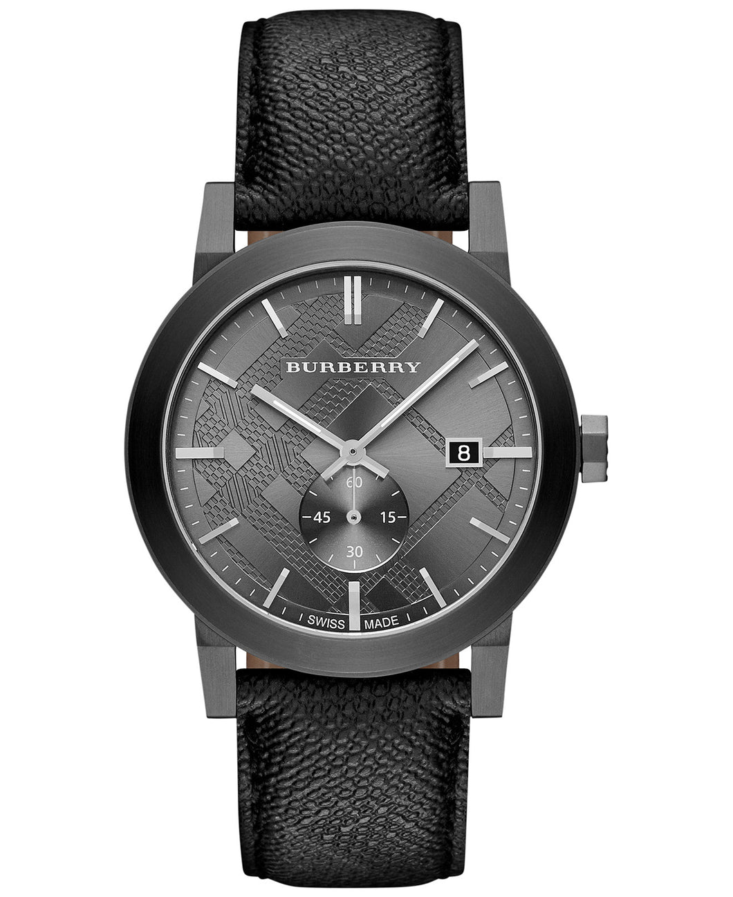 GTS GREY DIAL BLK STRAP