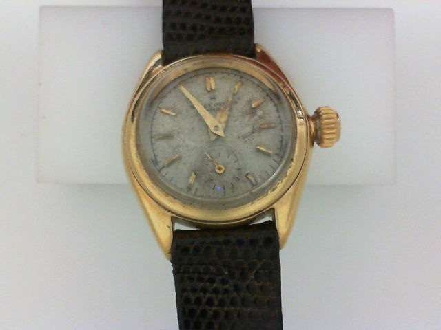 LDS ROLEX PERP OYSTER BUBBLE BACK SILVER DIAL