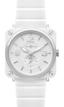White ceramic case/brac white dial