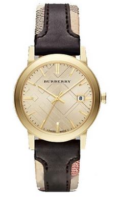 LDS LG TREND W TT BURBERRY STRAP YELL DIAL