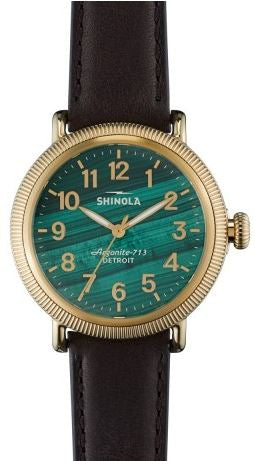 Runwell 38mm Malachite Coin Edge 3H
