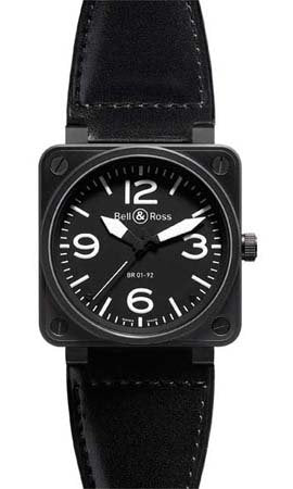 AUTOMATIC W CARBON FINISH CASE BLK DIAL