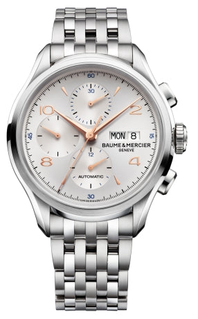 CLIFTON STEEL CAT XL SILVER DIAL STEEL BRACELET
