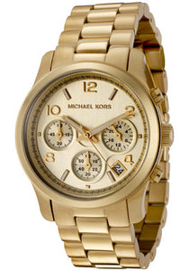 YELLOW GOLDEN MID SIZE CHRONO RUNWAY