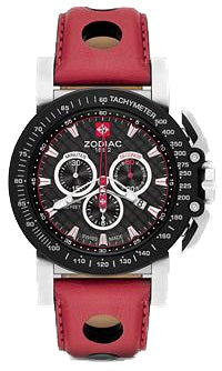 ZMX 02 BLK & RED  DIAL / STRAP