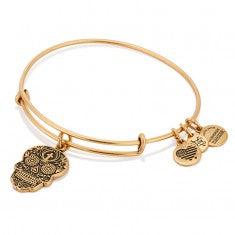 Laughing Buddha Charm Bangle
